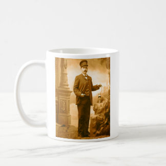 Train Conductor Coffee Cup