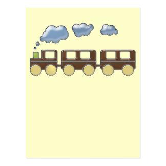 Train de Choo Choo Carte Postale