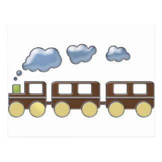 Train de Choo Choo Cartes Postales