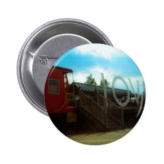 Train Depot 2 Inch Round Button