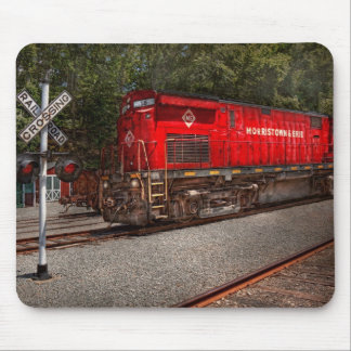 Train - Diesel - Morristown Erie Mouse Pad
