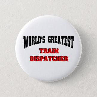 Train Dispatcher 2 Inch Round Button