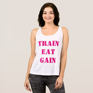 Train Eat Gain Top for Women
