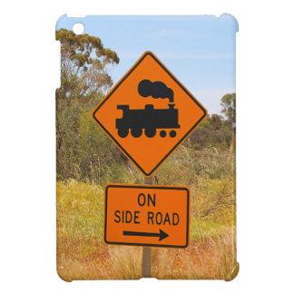 Train engine locomotive sign, Australia iPad Mini Cases