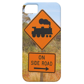 Train engine locomotive sign, Australia iPhone 5 Covers