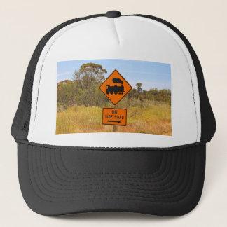 Train engine locomotive sign, Australia Trucker Hat