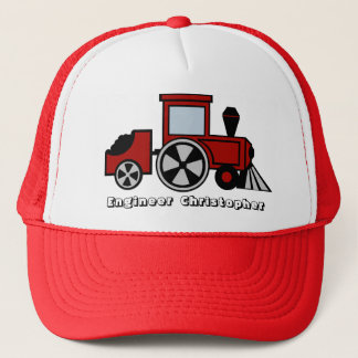 Train Engineer Trucker Hat