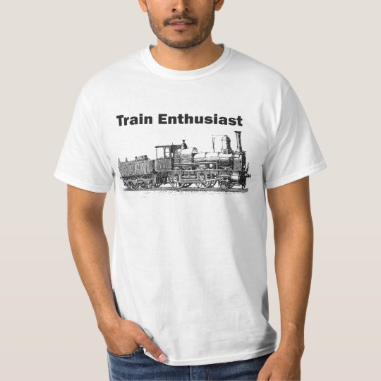Train Enthusiast T-Shirt