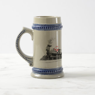 Train Enthusiasts Beer Stein
