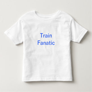 Train Fanatic Toddler T-shirt