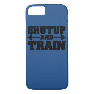 Train hard iPhone 7 cover