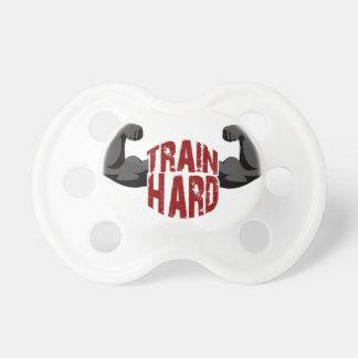 Train hard pacifier