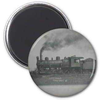 Train in Talala,Ok in 1908 Magnet