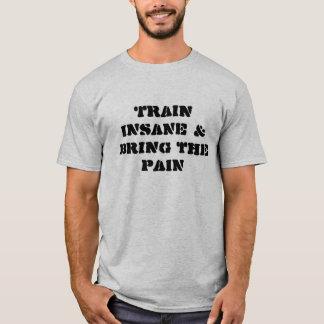 Train INSANE & Bring the PAIN T-Shirt