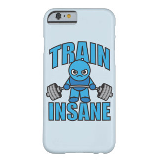 TRAIN INSANE Kawaii Weightlifter Deadlift Workout Barely There iPhone 6 Case