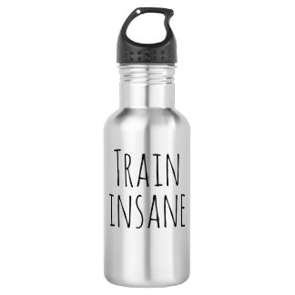 Train Insane Water Bottle