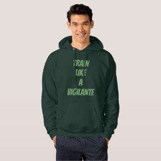 Train Like A Vigilante Hoodie