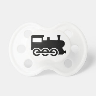Train locomotive pacifiers