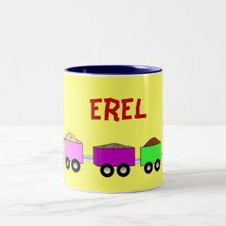 Train Mug - personalized