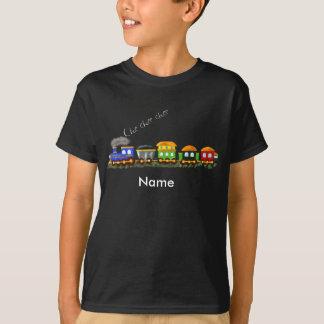 Train multi fait sur commande de couleur t-shirt