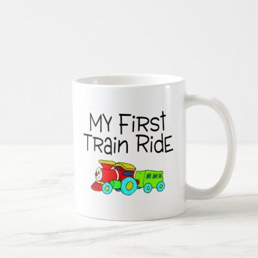 Train My First Train Ride Mug