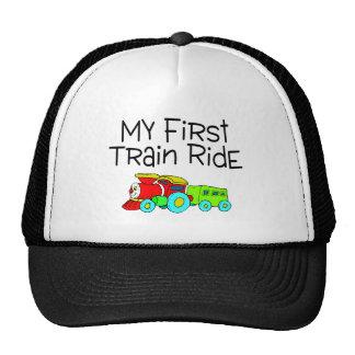 Train My First Train Ride Trucker Hat