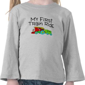 Train My First Train Ride Shirt
