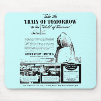 Train Of Tomorrow - New York Central Railroad Mouse Pad