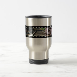 Train Parts Film Strip Thermal Mug