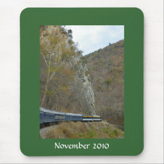 Train picture mouse pad