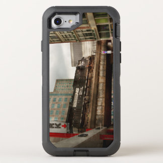 Train - Pittsburg Pa - The industrial city OtterBox Defender iPhone 8/7 Case