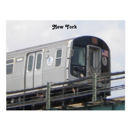 Train Post card