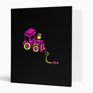train purple vinyl binders