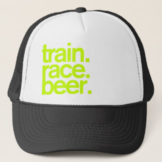 TRAIN.RACE.BEER. Trucker Hat