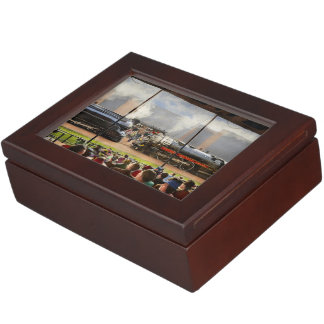 Train - Railroad Pageant 1939 Keepsake Box