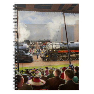 Train - Railroad Pageant 1939 Notebook