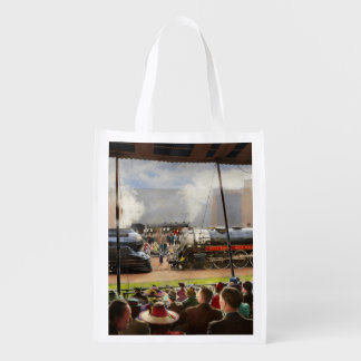 Train - Railroad Pageant 1939 Reusable Grocery Bag