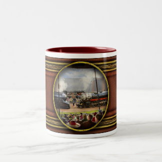 Train - Railroad Pageant 1939 Two-Tone Coffee Mug