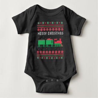 Train Railroad Ugly Christmas Sweater