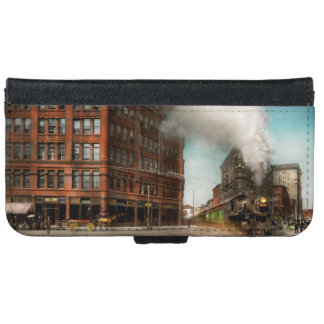 Train - Respect the train 1905 iPhone 6 Wallet Case