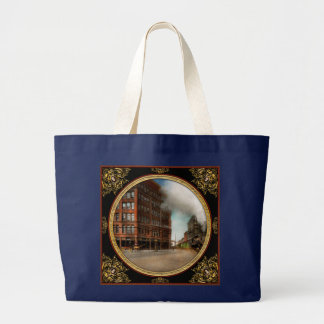 Train - Respect the train 1905 Large Tote Bag