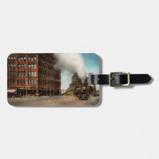 Train - Respect the train 1905 Luggage Tag