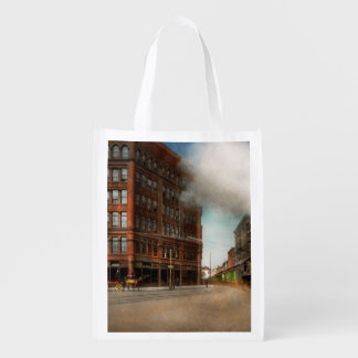 Train - Respect the train 1905 Reusable Grocery Bag
