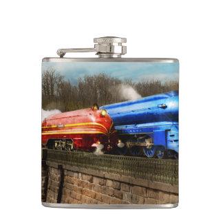 Train - Retro - Meet the Royals 1938 Hip Flask