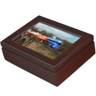 Train - Retro - Meet the Royals 1938 Keepsake Box