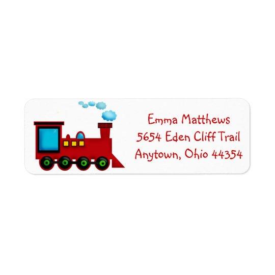 Train Return Address Labels