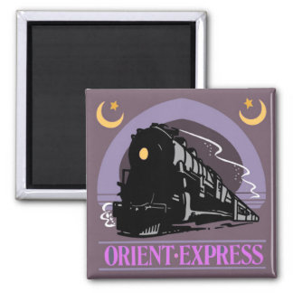 Train Ride Magnet