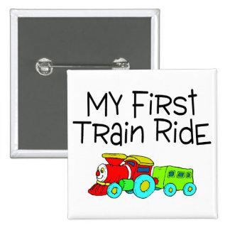 Train Ride My First Train Ride Pins