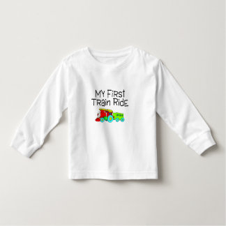 Train Ride My First Train Ride Toddler T-shirt