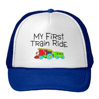 Train Ride My First Train Ride Trucker Hat